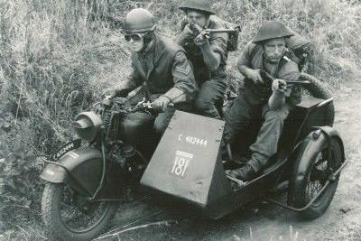 Assim como a RE, Norton equipou o exército Inglês nos grandes conflitos do século passado. Aqui, o modelo Big 4