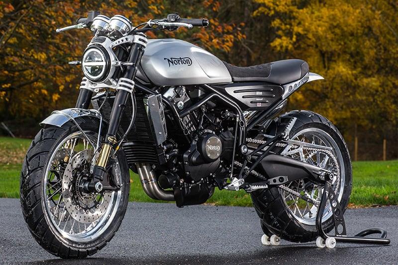 Entre clássicas, como as Commando, esportivas e nakeds, Norton produz motos de alta cilindrada