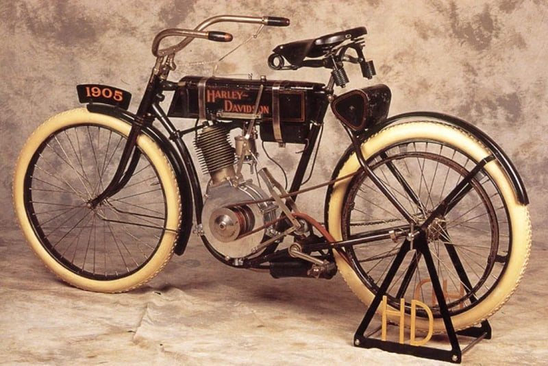 Walter foi fundamental no protótipo da Harley-Davidson