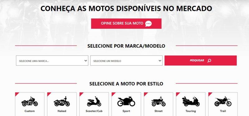 Quem quer saber qual moto usada comprar PRECISA conhecer o Guia de Motos! Além de ficha técnica, ele possui opiniões de proprietários de motos de cada marca e modelo